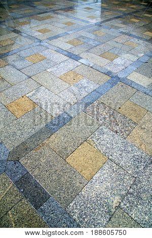 Thailand  Asia  Bangkok Abstract Pavement Cross Stone