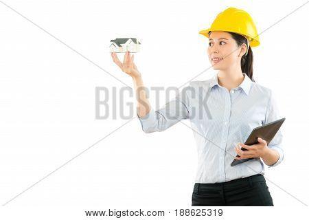 Building Designer Showing House Model