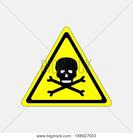 skull danger sign deadly danger sign warning sign danger zone