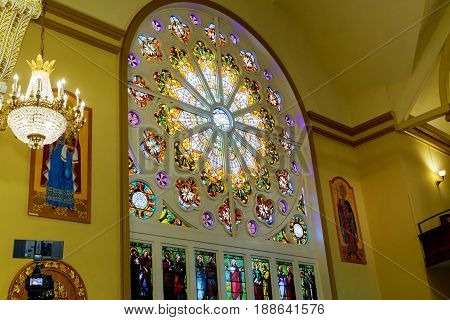 Interior Of The Church Of The Savior On Spilled Blood In New Brunswik Nj