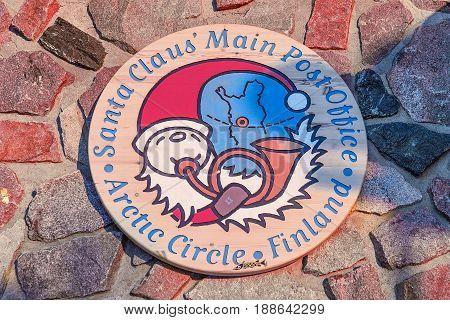 Sign In Santa Claus Village Lapland