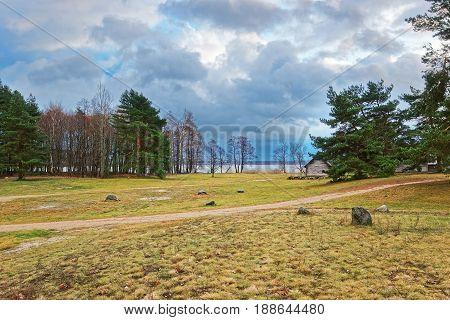 Nature In Ethnographic Open Air Village In Riga