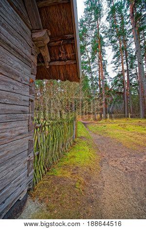Ethnographic Open Air Village In Riga