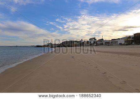 San Felipe Town and Beach, Jan 2015, Baja California, Mexico