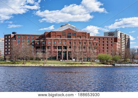 Building At Charles River Boston Ma