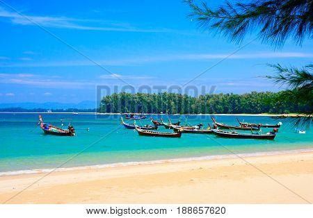 Nai Yang Beach in Phuket Thailand Asia