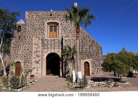 Mision Santa Rosalia de Mulege, Baja California, Mexico