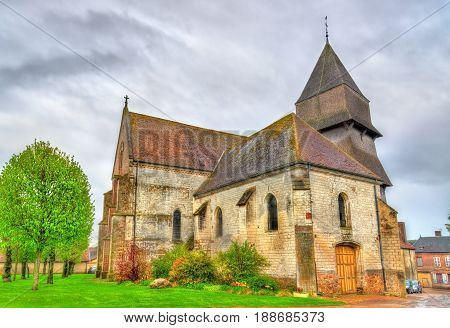 Collegiate church of the Assumption of Mary in Villemaur-sur-Vanne - France, Champagne-Ardenne