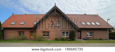 Semi Detached House Listed As Monument In Germany