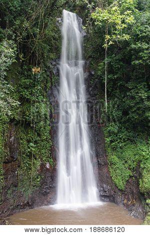 Waterfall Sao Nicolau, Sao Tome and Principe, Africa