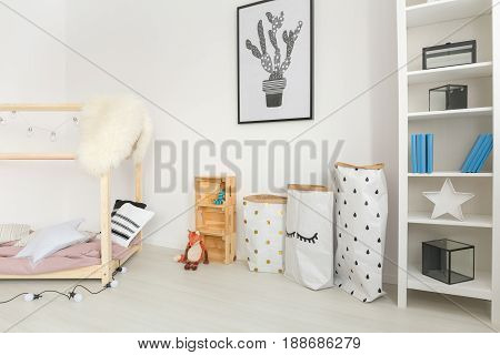 Baby Nursery With Minimalistic Accessories