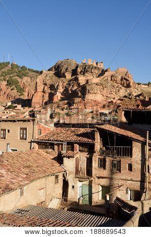 Village Of  Daroca; Zaragoza Province; Aragon Spain