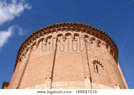 Apse With Embedded Columns And Lombard Bands Of San Juan De La Cuesta Church, (12Th-13Th Century), D