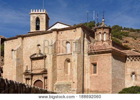 Santa Maria de los Sagrados Corporales church Daroca; Zaragoza province Aragon; Spain