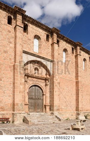 Church Of Fuentes De Giloca, Zaragoza Province, Aragon, Spain
