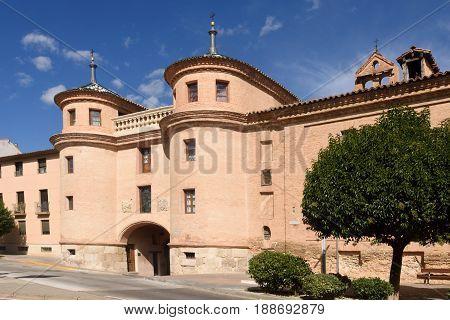 Terrer door Calatayud. Zaragoza province Aragon Spain