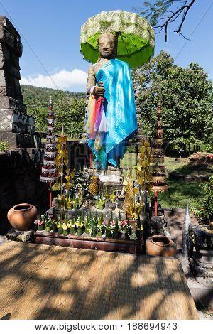 December 2 2016 ChampasakLaos. Wat Phou khmer site