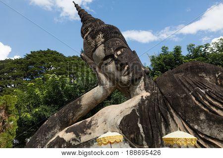 Wat Xieng Khuan Buddha Park. Vientiane, Laos..
