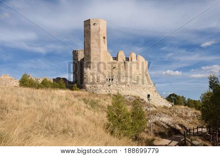 Castle of Ayab in Calatayud Zaragoza province Aragon Spain