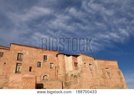 Los Senores castle Cetina Zaragoza province Aragon Spain