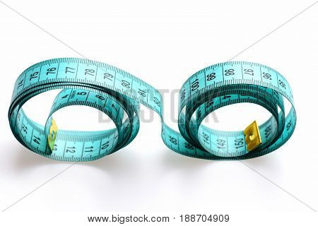Tape For Measuring Makes A Roundish Form