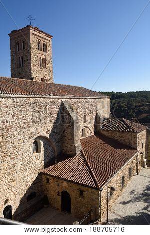 Santa Maria del Castillo church Buitrago de Lozoya Comunidad de Madrid Spain