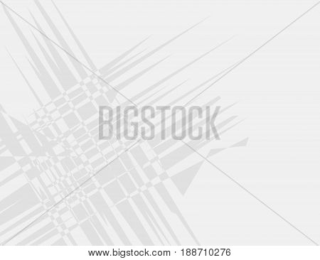 White and Grey Geometric Technology Background for Your Design. Vector Illustration.