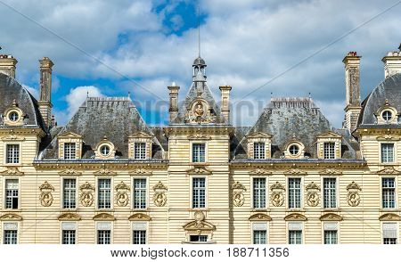 Chateau de Cheverny, one of the Loire Valley castles in France, the Loir-et-Cher department