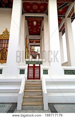 Thailand       And  Asia     Door Wat  Palaces       Gate