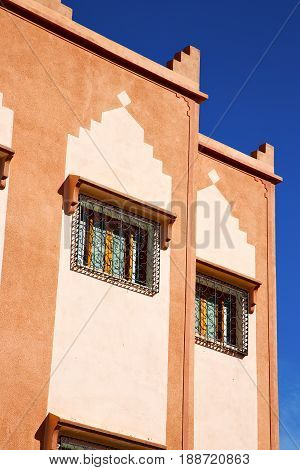 Window In Morocco Africa And Old   Wal Brick Historical