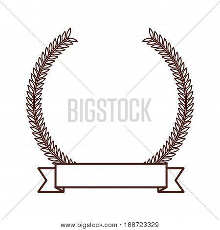 brown round emblem icon vector grpahic design