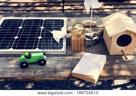 Solar cell is ecological electric technology