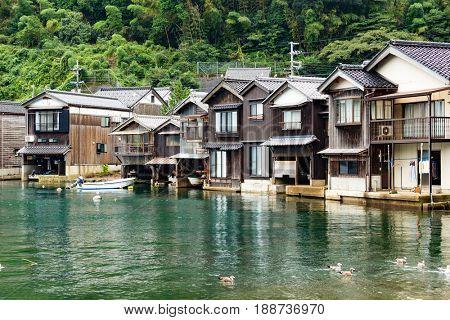 Seaside town in Ine-cho of Kyoto city