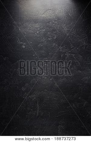 dark black wall background texture