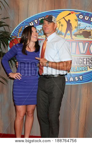 LOS ANGELES - MAY 24:  Sarah Lacina, Brad Culpepper at the