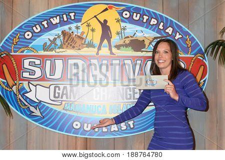 LOS ANGELES - MAY 24:  Sarah Lacina, Winner at the