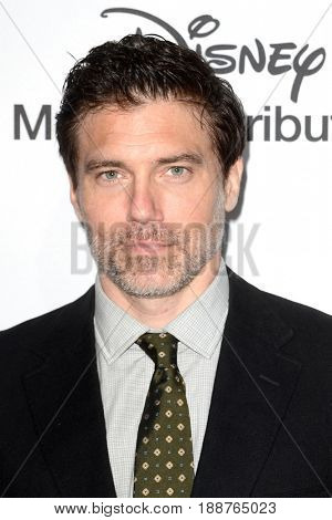 LOS ANGELES - MAY 21:  Anson Mount at the 2017 ABC/Disney Media Distribution International Upfront at the Walt Disney Studios on May 21, 2017 in Burbank, CA