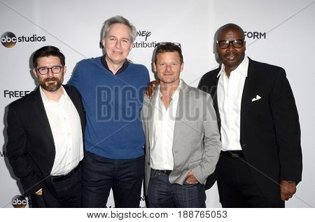 LOS ANGELES - MAY 21:  The Crossing Cast at the 2017 ABC/Disney Media Distribution International Upfront at the Walt Disney Studios on May 21, 2017 in Burbank, CA