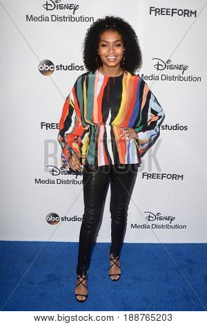 LOS ANGELES - MAY 21:  Yara Shahidi at the 2017 ABC/Disney Media Distribution International Upfront at the Walt Disney Studios on May 21, 2017 in Burbank, CA