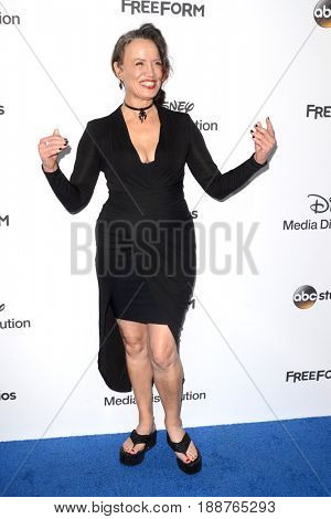 LOS ANGELES - MAY 21:  Rena Owen at the 2017 ABC/Disney Media Distribution International Upfront at the Walt Disney Studios on May 21, 2017 in Burbank, CA