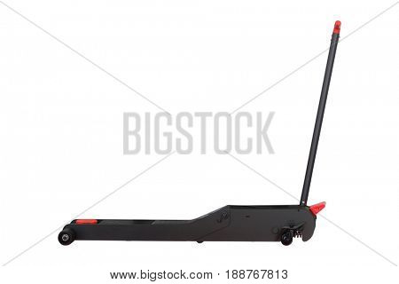 Mobile car lift isolated