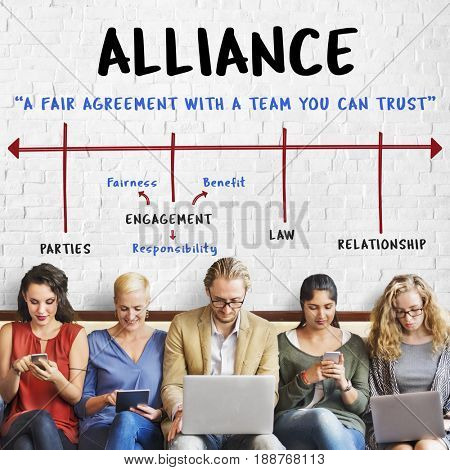 Partnership Alliance Collaboration Business Arrow