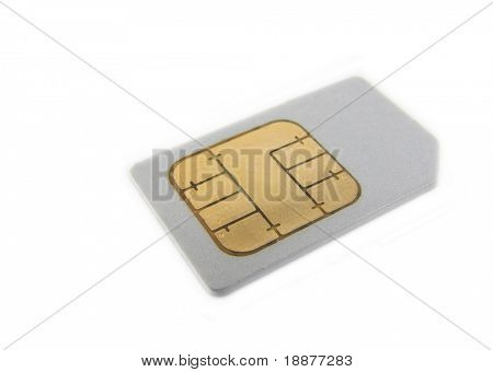 SIM card for cellphone
