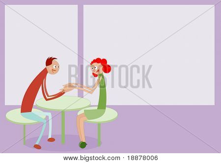 image of couple dating