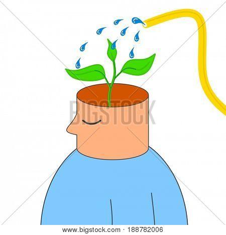 Idea growth concept