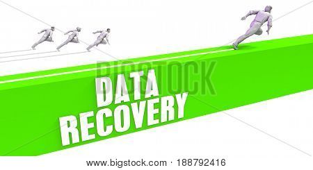 Data Recovery as a Fast Track To Success 3D Illustration Render