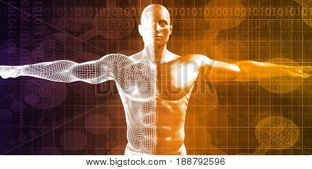 Futuristic Science Research as a Art Concept