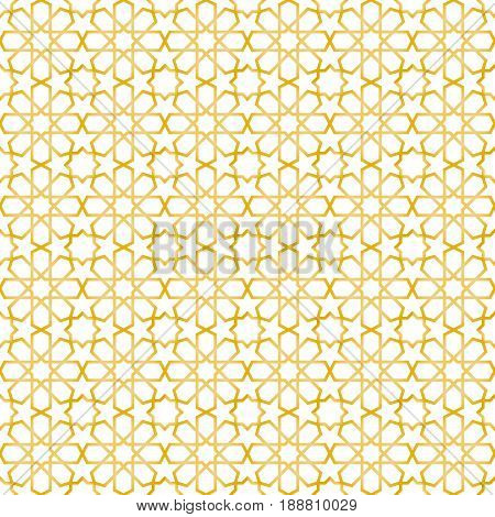 seamless islamic pattern and background vector illustration