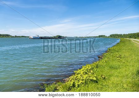 An image of the river Rhine in Germany