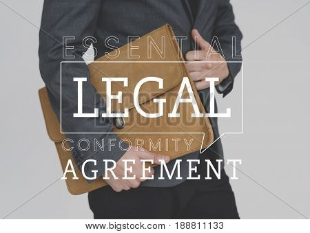 Law rights justice agreement fairness word